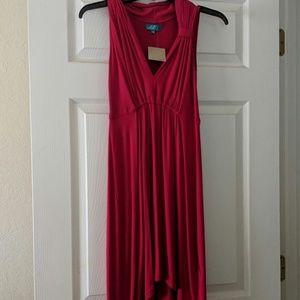 Sleeveless High-Low boutique dress